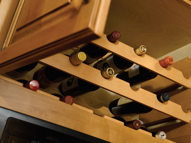solid wood wine bottle rack wine racks houston by. Black Bedroom Furniture Sets. Home Design Ideas