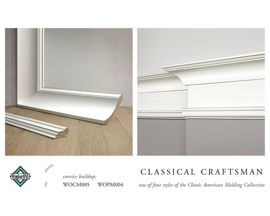 WindsorONE Classical Craftsman Crown Molding -