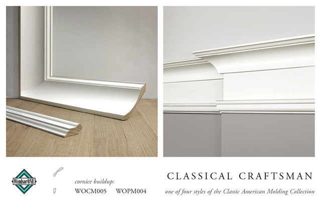 WindsorONE Classical Craftsman Crown Molding - Craftsman - Molding And Trim - san francisco - by ...