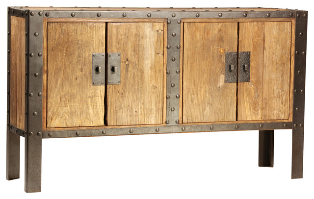 Urban Industrial eclectic-buffets-and-sideboards