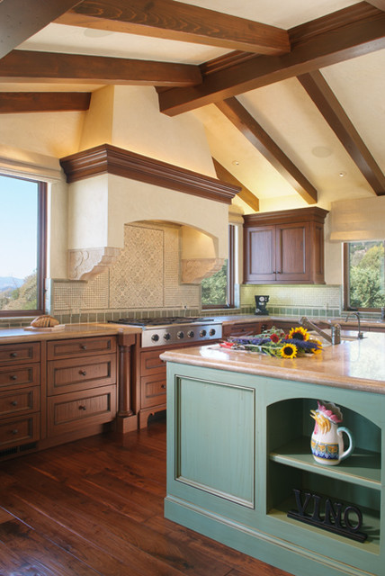 Atlas Park Residence traditional kitchen