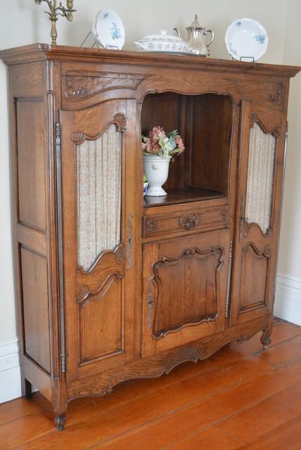 Antique French Vaisselier Armoire - Rustic - toronto - by My Paris Apartment Antiques