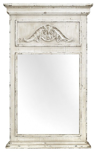Ivory Trumeau Mirror - Traditional - Wall Mirrors - by Pier 1 Imports