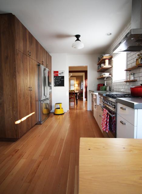 Modern Industrial Kitchen industrial-kitchen