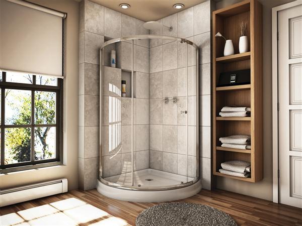 Fleurco Banyo Shower Doors Contemporary Shower Doors