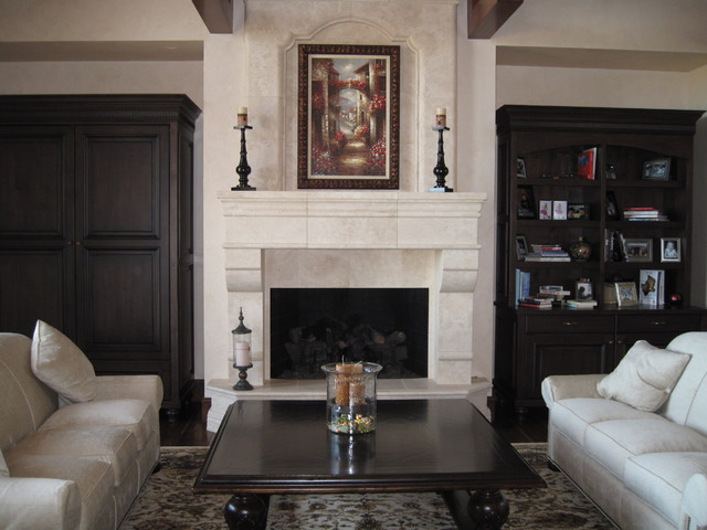 Formal living room fireplace - Does a living room need a fireplace ...
