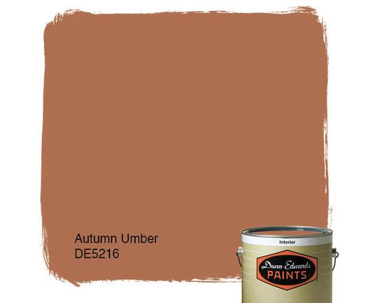 Dunn-Edwards Paints Autumn Umber DE5216 -