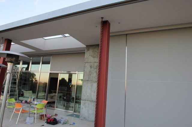 Motorized Exterior Shades Assorted Projects Modern Window Treatments San Francisco By