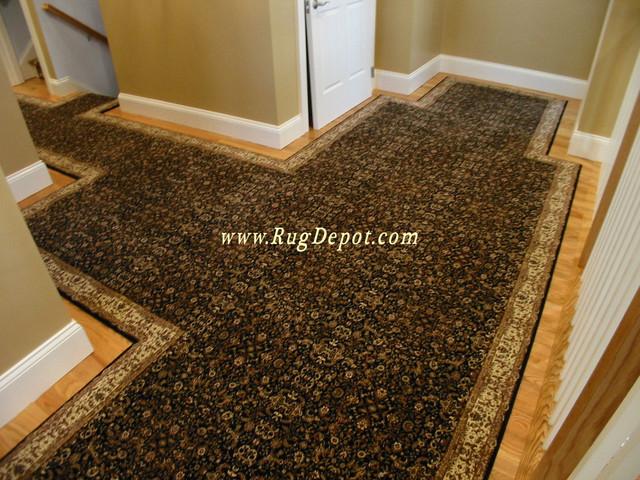 Natco Home Infinity Black carpet-tiles