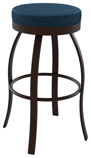 Amisco Swan Backless Swivel Stool 42496 26 Inches