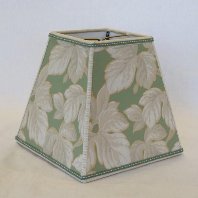 Wallpaper Lamp Shades : Vintage Wallpaper Lampshade
