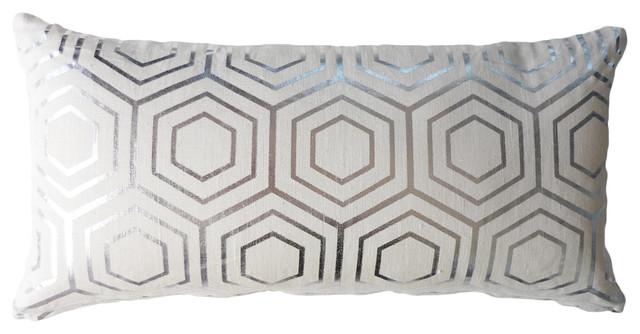 Atom Cushion, Zinc contemporary-decorative-pillows