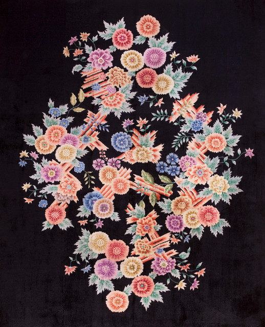 Chinese Art Deco Carpets asian-rugs