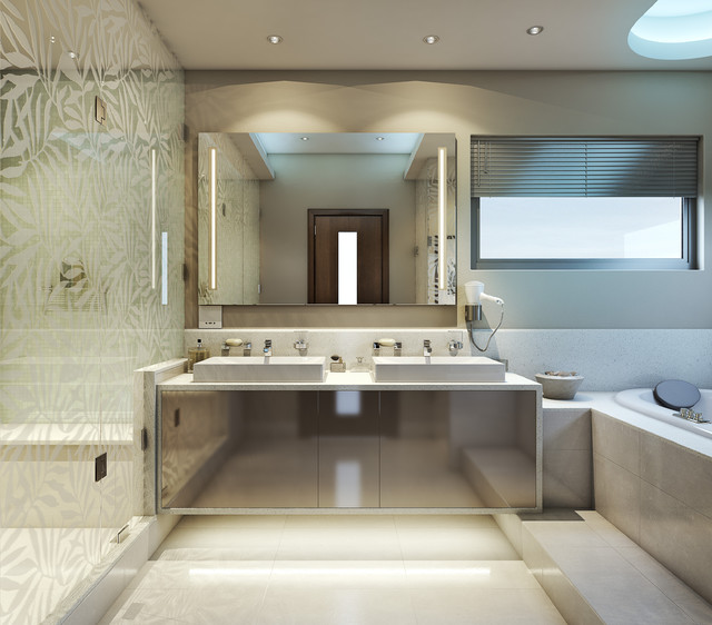 super cool bathroom contemporary rendering other