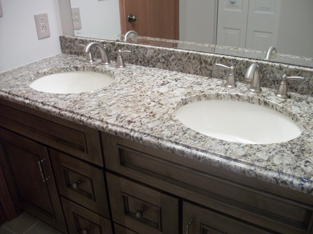 River Gold Granite Countertop Products On Houzz Kitchen. Nickel Countertops