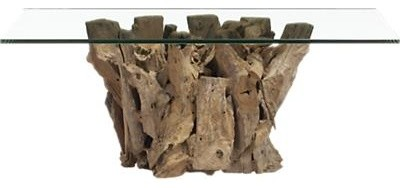 Driftwood Coffee Table contemporary-coffee-tables