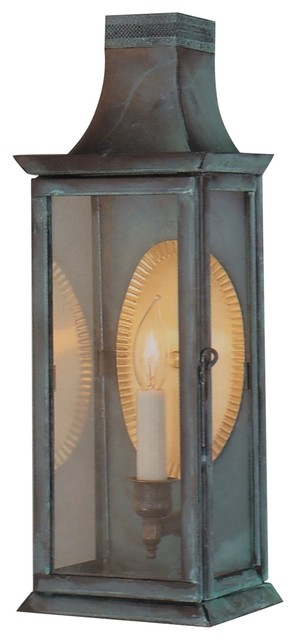 Elizabeth Wall Sconce Copper Lantern traditional-outdoor-wall-lights-and-sconces