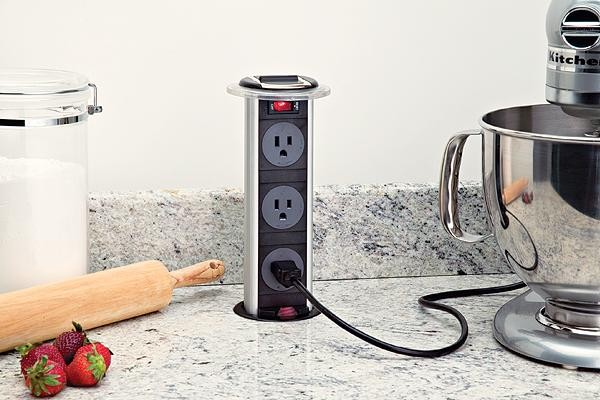 Hidden Power Outlet modern kitchen products