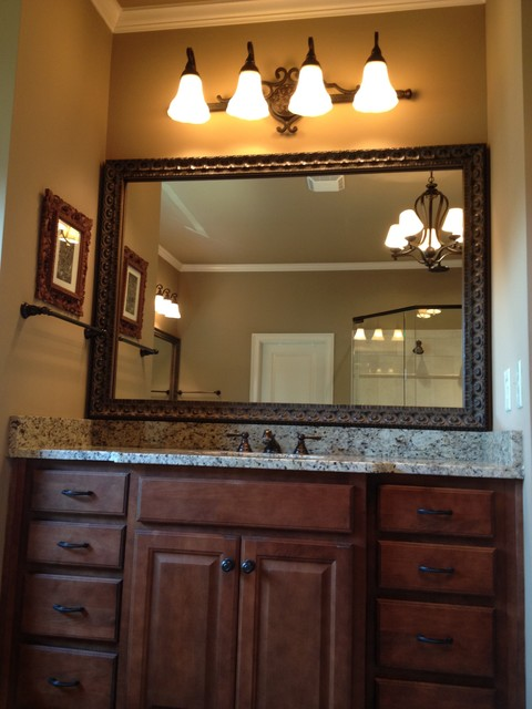 Brown Framed Bathroom Mirrors framed mirrors for bathroom - home design ideas and pictures