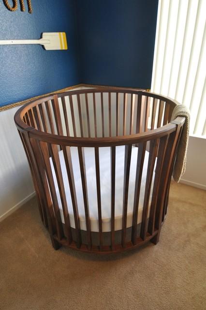 Round Baby Crib modern