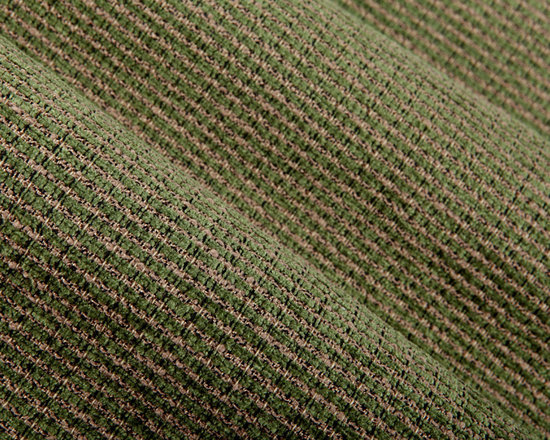Overland Upholstery Fabric in Avocado - Overland Upholstery Fabric in Avocado. A green & tan chenille weave fabric with a soft hand perfect for upholstering sofas or chairs. Available online at a discount, this value cannot be beat! Made in the USA with 68% cotton and 32% rayon with a width of 54″. Cleaning Code S. Passes 30,000 double rubs on the Wyzenbeek Method abrasion test.