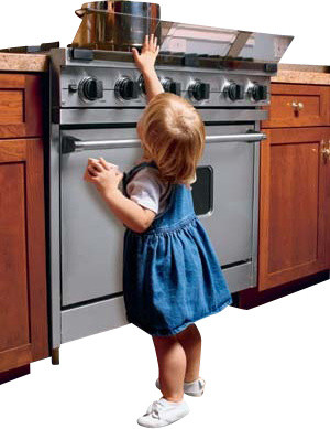 Stove Guard for Child Safety - Traditional - Baby Gates And Child Safety - by KidSafe Home ...