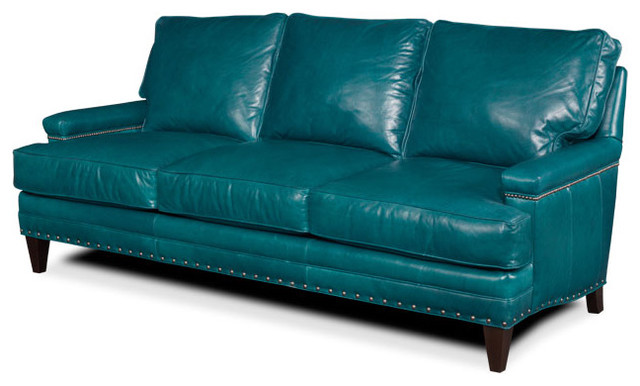 Turquoise Leather Sofa sofas