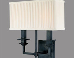 Berwick Double Wall Sconce contemporary wall sconces