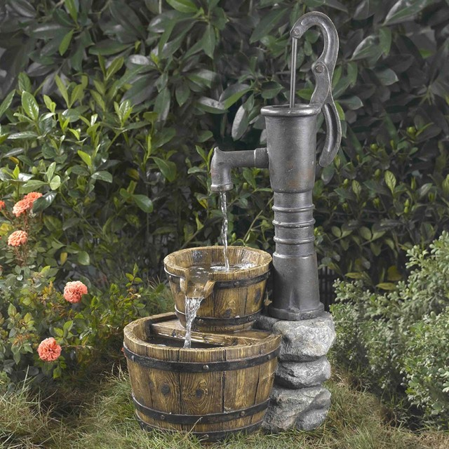 Old Fashioned Water Pump Water Fountain Contemporary