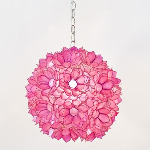 Venus Pendant Pink eclectic pendant lighting