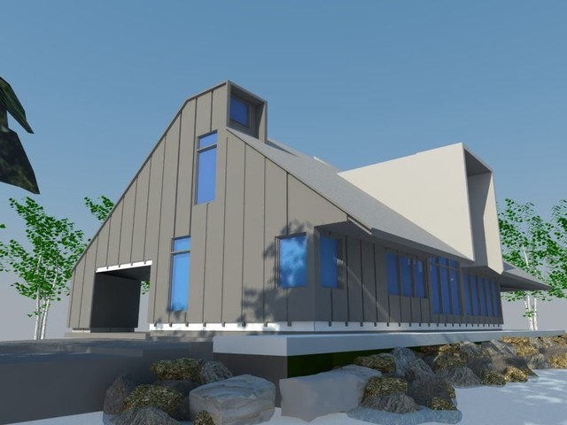 Lakehouse, Tobermory Residence contemporary-rendering