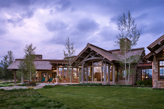 Wyoming Residence traditional exterior