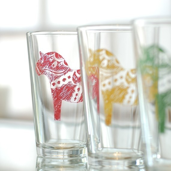 Contemporary Everyday Glassware by Etsy