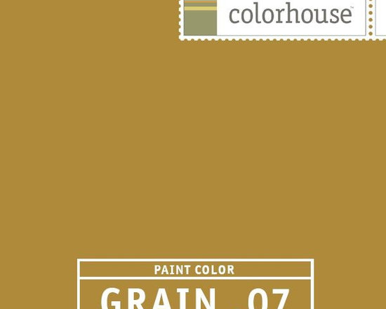 Colorhouse GRAIN .07 - Colorhouse GRAIN .07: The tangiest of the GRAINs with a hint of green, like an autumn squash. This bold hue creates drama and warms the space without getting too dark.