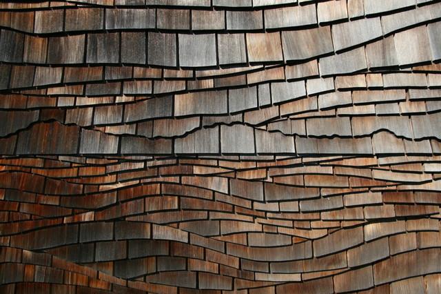 Custom artist cut cedar shingle siding for Shingle designs
