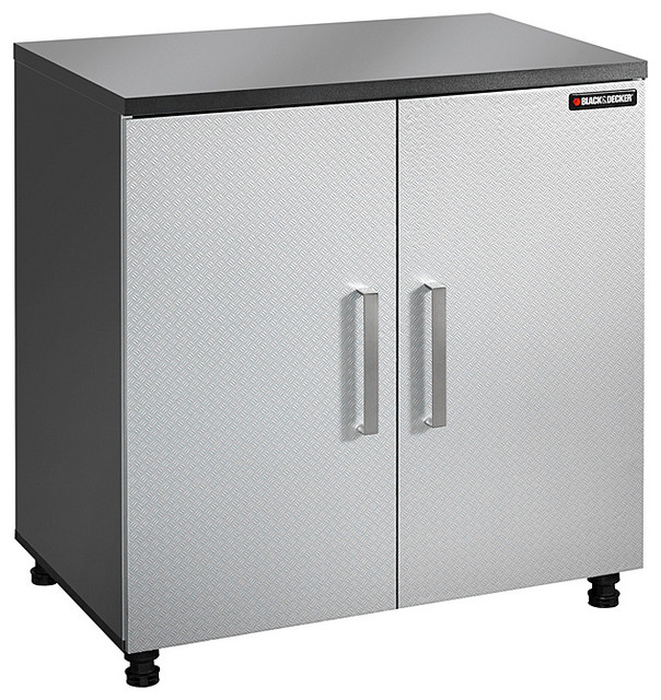 Black & Decker Garage and Workshop 2-door Base Cabinet - Contemporary - Storage Cabinets - by ...