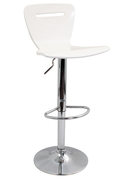 H2 Bar Stool - WHITE