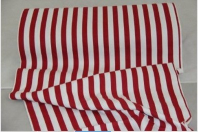 Thick 2.5 cm Red Stripes Curtain Material Fabric modern-upholstery-fabric