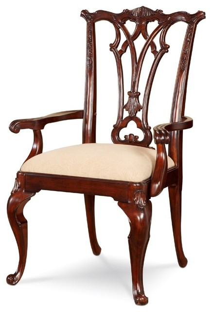 ART Furniture - Devonshire Wood Back Arm Chair (Set of 2) - ART-191201-2106 traditional-armchairs-and-accent-chairs