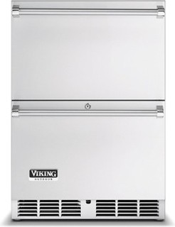 Viking 24 Inch Outdoor Refrigerated Drawers - Contemporary - Outdoor ...