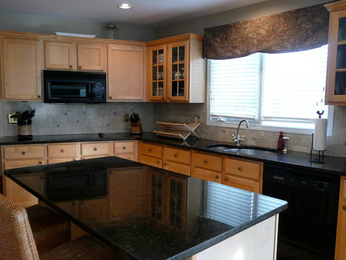 Replacing over the range microwave leads to complete remodel for Can you replace kitchen cabinets without replacing countertop