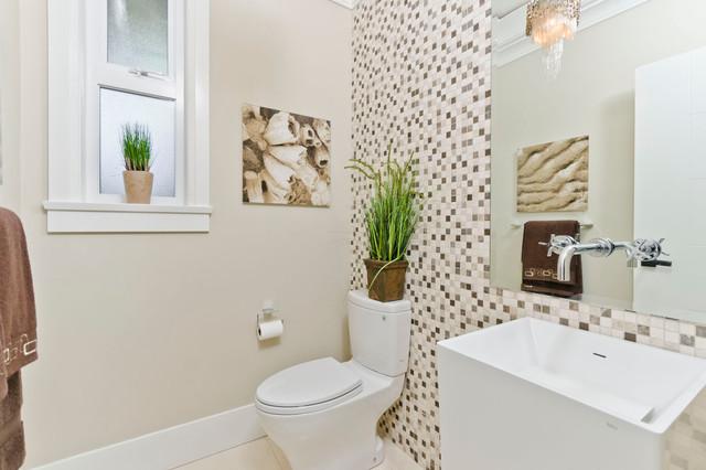 North Vancouver New Home contemporary-bathroom