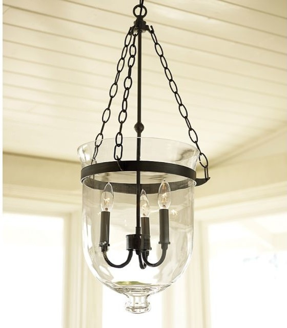 Pottery Barn Bronze Chandelier: Hundi Lantern, Bronze Finish