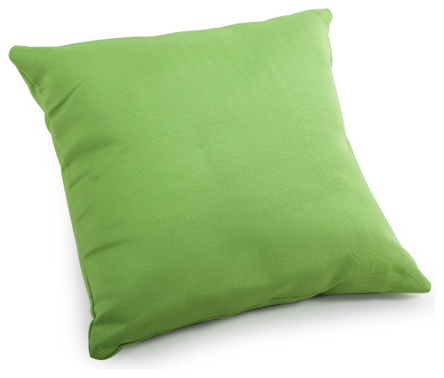 Laguna Large Pillow Green - Tropical - Outdoor Cushions And Pillows - by Zuo Modern Contemporary