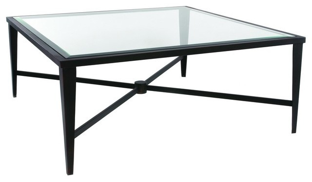 Allan Copley Designs Belmont 42 Inch Square Glass Top