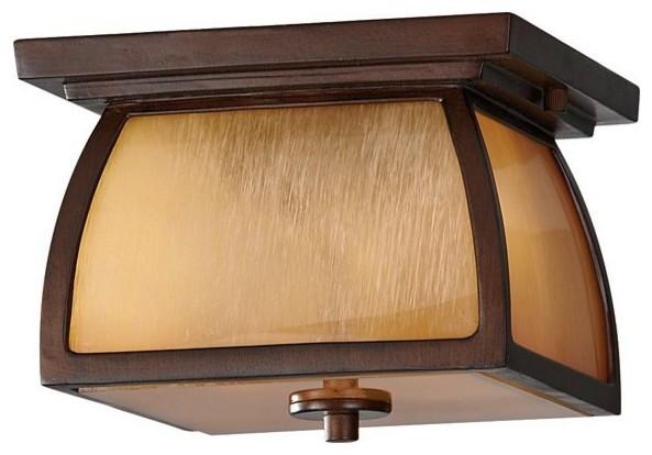 2 Bulb Sorrel Brown Outdoor Lighting contemporary-outdoor-lighting