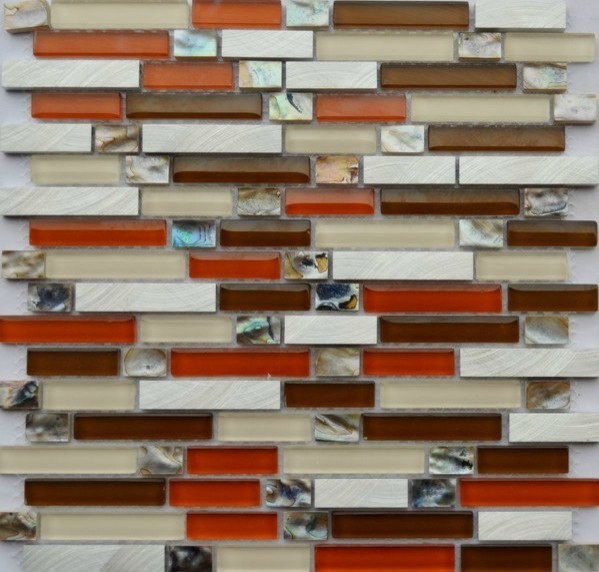 stainless steel mosaic tiles ssmt051 glass mosaic tile