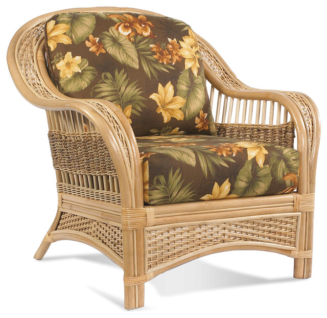 Rattan Chair Tropical Breeze Tropical Armchairs And