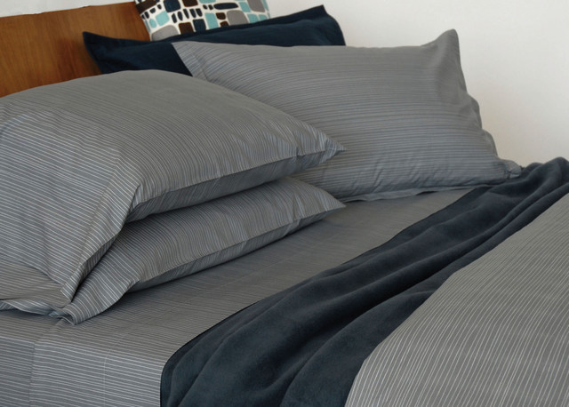 Area One Way Organic Grey Bedding Modern Sheets By