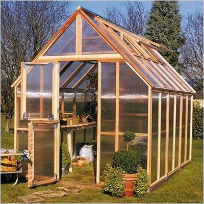 Sunshine Gardenhouse - Mt. Rainier 8' x 12' GardenHouse Kit